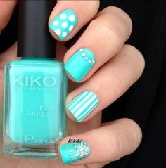 Wish | Blue Cute Summer Nail Art Marketing for Nail Technicians http://www.nailtechsuccess.com/nail-technicians-secrets/?hop=megairmone