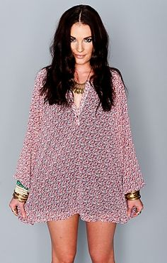 Jamie Tunic ~ Stone Roses Love Love Love these ladies  Show Me Your Mumu will arrive at Divergence Clothing in Spring 2014!  http://divergenceclothing.com/