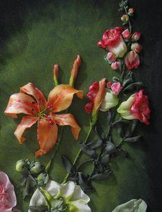 3 detalhes close-up por Elena Lisovitskaya da Ucrânia