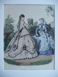 La Mode Ilustree plates 1865   Package prices for individual countries (e.g. Switzerland, Norway) may ...