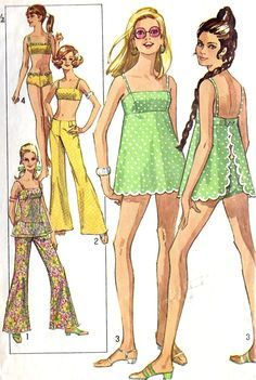 Image result for 1960's swimsuit patterns