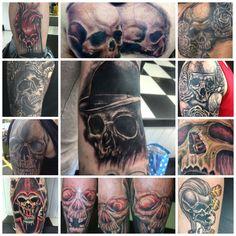 Skulls I've done