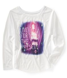 Love Sleeve Live For The Present Boxy Tee