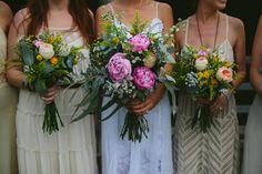Ana + Tarun: Alverstoke Farm wedding - Still Love Bridesmaid Flowers, Wedding Bouquets, Wedding Flowers, Bridesmaid Dresses, Farm Wedding, Boho Wedding, Dream Wedding, Love Photography, Wedding Photography