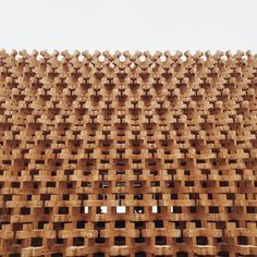 The Japanese pavilion is defined by a spectacular 3D wooden facade made by a traditional Japanese joint system technique.  @archilovers #expo2015 #archiloversEXPO #expotakeover