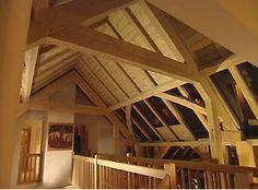 Contemporary oak frame English Barn, Berkshire – Roderick James Architects