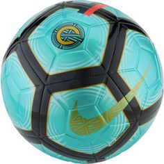 217d21a01 Nike CR7 Strike Soccer Ball (Clear Emerald Black Gold)