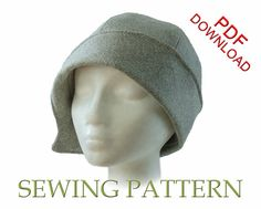 SEWING PATTERN  Clementine 1920's Twenties von ElsewhenMillinery                                                                                                                                                                                 Mehr
