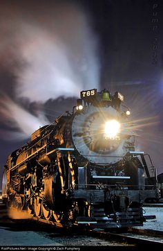 NKP 765 Nickel Plate Road Steam 2-8-4 at Berkeley, Missouri