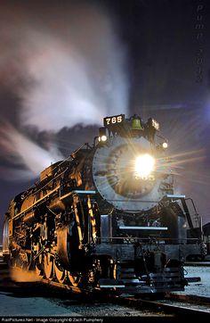 RailPictures.Net Photo: NKP 765 Nickel Plate Road Steam 2-8-4 at Berkeley, Missouri by Zach Pumphery