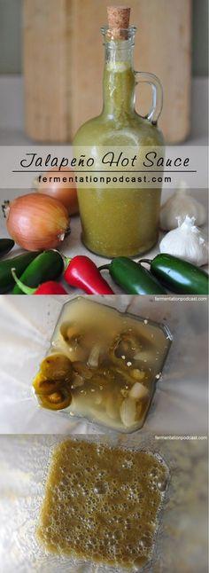 Jalapeno Hot Sauce: