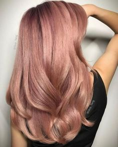 Rose Gold Hair Idea