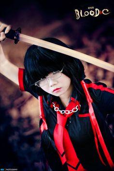 Cosplay : Kisaragi Saya - Blood-C by minhquan2011.deviantart.com on @deviantART