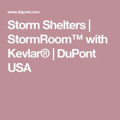 Storm Shelters | StormRoom™ with Kevlar® | DuPont USA