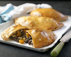 Classic Cornish pasty – an all-in-one meal that's portable, filling and delicious
