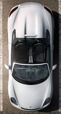 Boxster S, Porsche Boxster, Porsche Sports Car, Porsche Cars, Technical Illustration, Car In The World, Car Stuff, Top View, Sport Cars