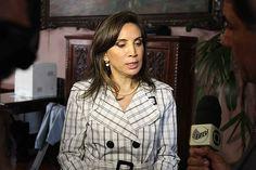 A prefeita de Ribeirão Preto, Dárcy Vera, em entrevista