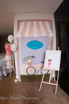 Pink Paris French Girl Birthday Party Planning Ideas Decorations