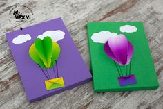 Vixy: Cutii cadou - baloane cu aer cald 3D