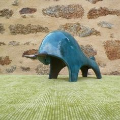 TB02 B Tête basse bleue