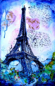Everything is Better in Paris by abrushwithcolor on Etsy