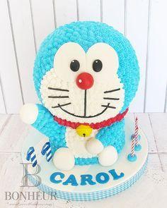 ドラえもん Doraemon Cake . . Aku ingin begini, Aku ingin begitu, Aku ingin ini itu, Banyak sekali~.