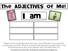 The Adjectives of ME!