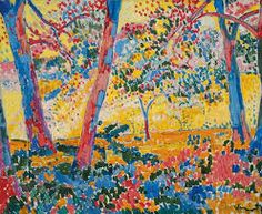 Sotheby's New York hopes to kickstart the auction season with an Impressionist and modern art auction led by Andre Derain and Maurice de Vlaminck. Andre Derain, Fauvism Art, Maurice De Vlaminck, Modern Artists, Henri Matisse, Art Auction, Oeuvre D'art, Landscape Paintings, Impressionist Landscape