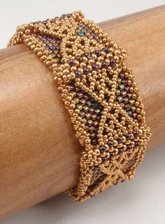 Beading Tutorial for Thorbardin Bracelet by njdesigns1 on Etsy