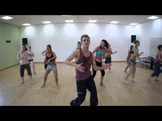 ▶ Latin Dance Aerobic Workout - Hull College - YouTube