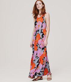 Full Bloom Maxi Dress   Loft