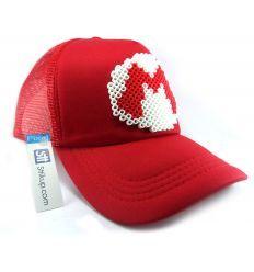 Gorra Sttikup Mario B Pixel 3D