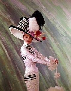 "lottereinigerforever:  Audrey Hepburn in ""My Fair Lady"""