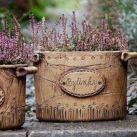 Pottery Pots, Slab Pottery, Ceramic Pottery, Ceramic Pinch Pots, Ceramic Plant Pots, Pottery Handbuilding, Ceramic Light, Hand Built Pottery, Ceramics Projects