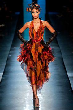 Lais Ribeiro for Jean Paul Gaultier Spring/Summer 2014 Haute Couture