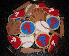 Sweet Spot Blog: Phillies cookies