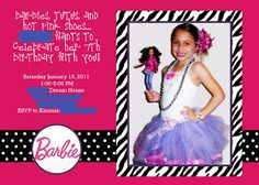 Sugar and Dots: Barbie Themed Birthday Party