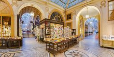 The historic shopping passages of Paris