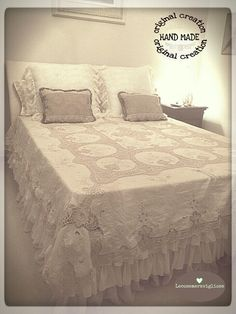 so chic! | shabby e country chic diy | pinterest | best country ... - Letto Country Chic