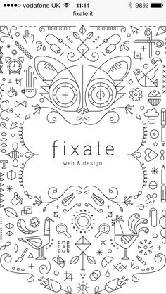 Lovely ornate vector illustration from http://fixate.it