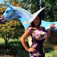 Swarovski Fascinator One-of-a-kind By:Terrill Hats @Kentucky Derby