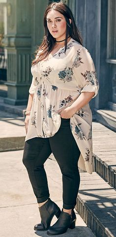ae90a6ce4bf0fa Plus Size Outfit - Shop the Look affiliate link Women Big Size Clothes -  http