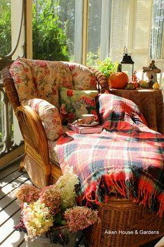 Cosy Autumn Tea