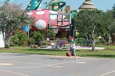 Shooting hoops at #GKTW! #basketball www.gktw.org