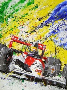 Ideas Sport Art Ayrton Senna For 2019 Car Posters, Poster S, Vintage Racing, Vintage Cars, Formula 1, Grand Prix, Gp F1, Car Drawings, Automotive Art