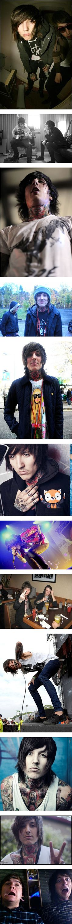"""Oliver Sykes 2!"" by asyousleep ❤ liked on Polyvore"