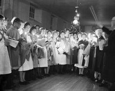 City Hospital nurses Christmas 1958