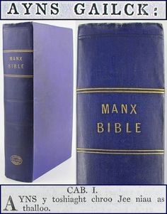 Have one to sell? Sell it yourself  MANX GAELIC BIBLE*1819*ISLE OF MAN-GAELG/NEW/OLD TESTAMENT/CELTIC LANGUAGE/VIBLE