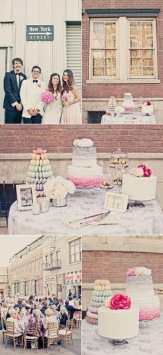 CBS Studios Backlot Wedding by onelove photography
