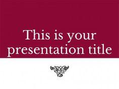 Nerissa presentation template